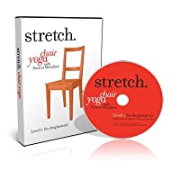 STRETCH. Chair Yoga with Patricia McCallum - (5 DVD Set) including the LEVELS 1 - 5, programs of gentle sitting & standing exercises for the ageless 'over 50s', seniors & elderly that includes low impact stretching, strengthening & breathing routines to improve energy, posture, balance & flexibility.