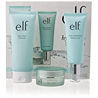 e.l.f.   Hello, Hydration 3Piece Starter Set with Cleanser, Moisturizer, and Eye Cream