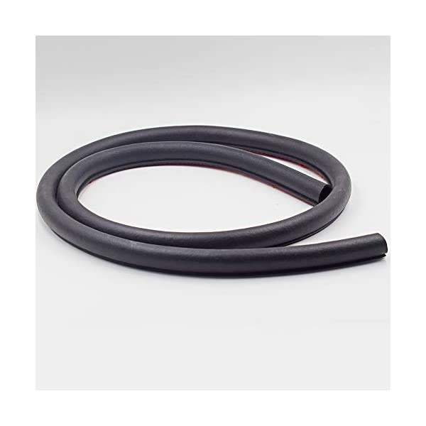 Universal Automotive EPDM Rubber Seal Strip 3M P-shape Self Adhesive Car Truck Door Window Hollow Weather Strip Soundproof Noise Insulation Sealing