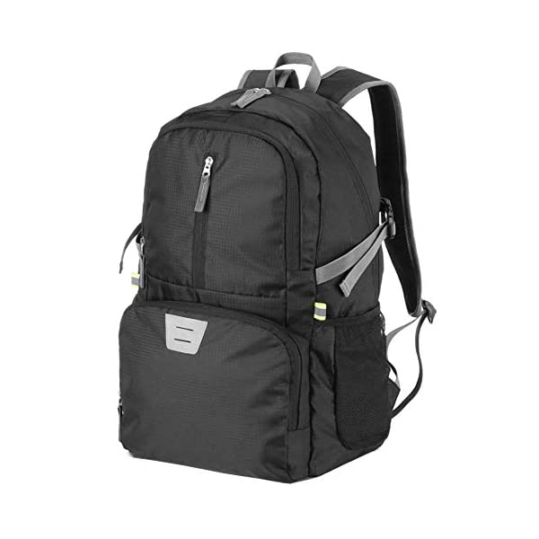 travel inspira Lightweight Foldable Backpack Water Resistant Packable Sports Casual for Outdoor Camping Hiking Cycling 35 Liters
