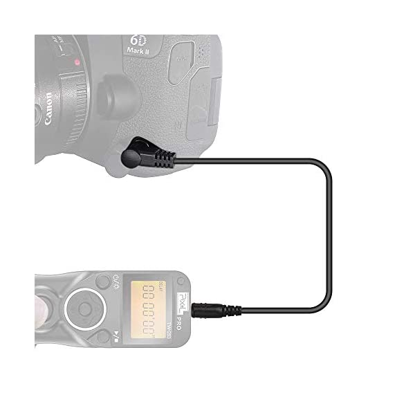 Pixel 3.5mm Off Camera Shutter Connecting Cable Cord 3.5mm-Fuji Connecting Plug for Fuji Cameras with Pixel Shutter Remote Control TW-283 Series