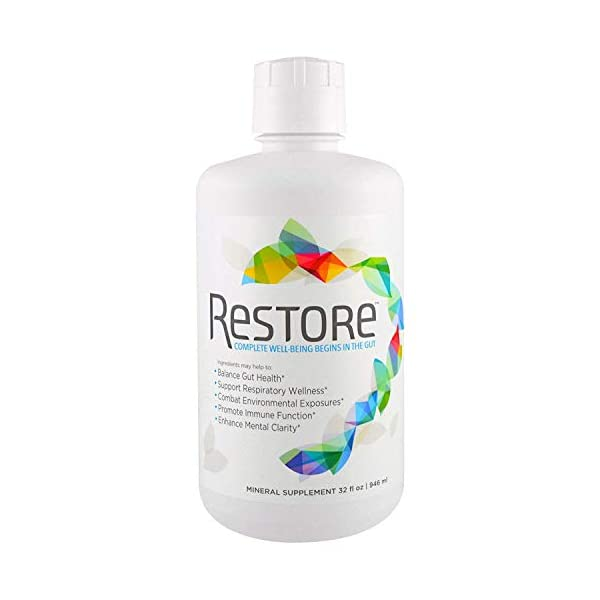 Restore Promotes Gut-Brain Health | Dr. Formulated – Probiotic & Enzyme Alternative – for Digestive Health, Mood, Weight Loss & Energy Boost, Immune Support, Stress Relief | 2-Month Supply