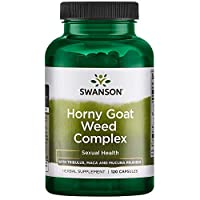Swanson Horny Goat Weed Complex 120 Capsules