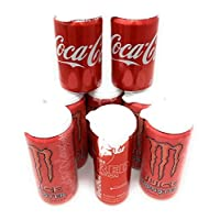 8 Premium Spill Proof Soda Can Lids - Food Grade Plastic, FDA Approved and Made in the USA - Fits 12 Ounce Cans, Slim Cans and 16 Ounce Cans (White)