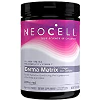 NeoCell Derma Matrix Collagen Skin Complex Powder - Collagen Types 1 & 3 - 6.46 Ounces (Package May Vary)
