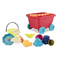 Multicolor Branford LTD BX1098Z toys by Battat-Bazillion Buckets Nesting Cups-10 Colorful Stacking Cups for Kids 18m B