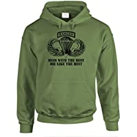 MUSICOT US Army Special Forces Ranger Airborne Mens Pullover Hooded Sweatshirt Cozy Sport Outwear