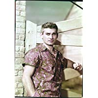 Jeff Chandler 5x7 Color Transparency Universal Publicity Shot for The Iron Man