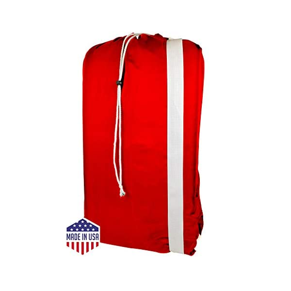for Heavy Duty Use Laundromat and Household Storage Made in the USA College Laundry Bags machine washable Nylon Laundry Bag with reliable Shoulder Strap 30 X 40-100/% Nylon