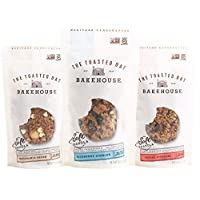 The Toasted Oat Bakehouse Gluten Free Soft Granola Trio Trial Pack, 3 Count