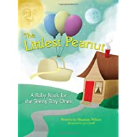 The Littlest Peanut: An Inspirational NICU Baby Book for both journaling and tracking milestones in the Neonatal Intensive Care Unit.