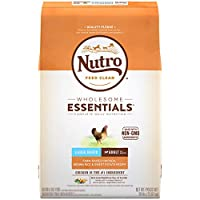 NUTRO WHOLESOME ESSENTIALS Adult Large Breed Natural Dry Dog Food Farm-Raised Chicken, Brown Rice & Sweet Potato Recipe, 30 lb. Bag