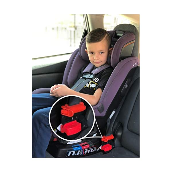 2-pack Car Seat Buckle Guard for Children Keep Your Child from Unbuckling the Seat Belt Button in Your Car 4 pcs