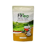 The ORIGINAL Fit Tea 28 Day Detox Tea, Herbal Tea for Colon and Body Cleanse