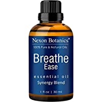 Nexon Botanics Breathe Essential Oil Blend 30 ml - Pure, Natural Breathe Easy from Eucalyptus, Peppermint, Rosemary and Niaouli - Helps Relief Sinus, Colds, Allergy, Flu, Cough and Congestion