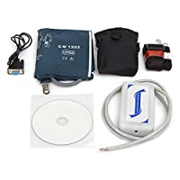 Denshine Automatic 24 Hours ABPM Ambulatory Blood Pressure Monitor BP Measurement Monitor with PC Software, 3 Cuffs Adult/Child/Large Adult