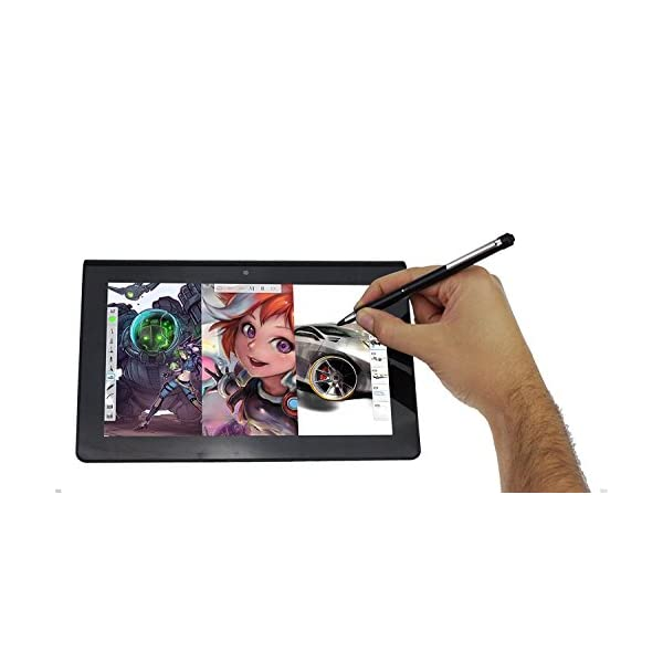 Broonel Midnight Black Rechargeable Fine Point Digital Stylus Compatible with The ASUS TF103c