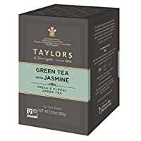 Taylors of Harrogate Green Tea with Jasmine, 50 Teabags (Pack of 6)