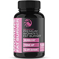 Nobi Nutrition Premium Fat Burner for Women - Thermogenic Supplement, Carbohydrate Blocker, Metabolism Booster an Appetite Suppressant - Healthier Weight Loss - Energy Pills - 120 Capsules