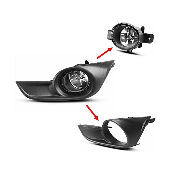Sedan Set of 3 with Bumper Cover and Fender Auto Body Repair Compatible with 2013-2015 Nissan Altima Front