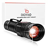 DGYAO® 660nm LED Red Light Therapy Devices,Natural Pain Relief for Joint & Muscle - Improving Skin Texture,Facilitating Healing and Treatment of Injuries