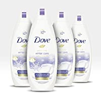 Dove Body Wash To Nourish and Moisturize Dry Skin Winter Care Bodywash for Softer, Smoother Skin After Just One Shower, 22 Fl Oz, Pack of 4