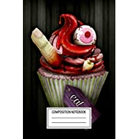 Composition Notebook: For Foodies Eat Me Zombiefied Wide Ruled Note Book, Diary, Planner, Journal for Writing