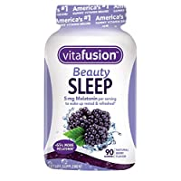 Vitafusion Beauty Sleep Gummies, 90 Count (Packaging May Vary)