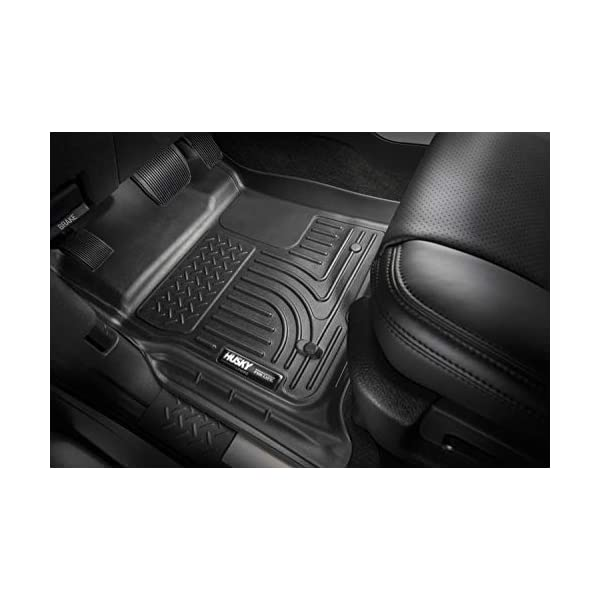 2019 Dodge Ram 1500 Classic Crew Cab 2010-2018 Dodge Ram 2500//3500 Crew Cab Husky Liners 99001 Black Weatherbeater Front /& 2nd Seat Floor Liners Fits 2009-2018 Dodge Ram 1500 Crew Cab