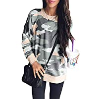 BTFBM Women's Leopard Print Long Sleeve Crew Neck Fit Casual Sweatshirt Pullover Tops Shirts