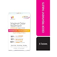 vH essentials pH Balanced Vaginal Odor Treatment Tablets - 6 Tablets With Applicator