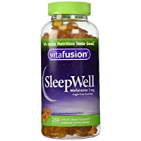 vitafusion SleepWell, 250 Gummies,3mg,Sugarfree