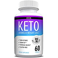 Keto Pills for Weight Loss - Appetite Suppressant for Women & Men - Reach Ketosis Fast - Energy & Metabolism Boost - 60 Count