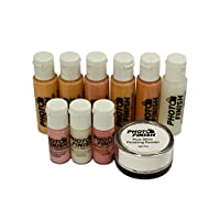 Photo Finish (Airbrush Makeup set-Makeup only-Luminous finish) Fair to Medium Shades