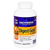 Enzymedica - Digest Gold with ATPro, Daily Digestive Support Supplement with Enzymes and ATP, 240 Capsules