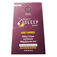 Harmony Proteins Beauty Sleep Collagen Powder Drink Mix 1.05 Oz! Infused with Natural Fruit Essence! Non-GMO, Gluten Free, No Sweeteners and No Artificial Colors! Choose Your Flavor! (Honey Lavender)