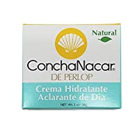 ConchaNacar Natural Hydrating and Brightening Day Cream. Moisturizer, Skin Lightener and Anti-Aging Treatment. 2 Oz