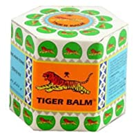 Singapore White TIGER BALM 19.4 g - Herbal Muscles Ointment Pain Relief