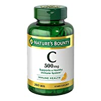 Vitamin C by Nature's Bounty, Immune Support, Vitamin C 500mg, 250 Tablets