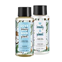 Love Beauty And Planet Volumizing Shampoo and Conditioner, Paraben Free, Silicone Free, and Vegan, Coconut Water and Mimosa Flower, 13.5 oz, 2 count