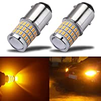 AK-3014 39 SMD Replacement Bulbs For Turn Signal Lights Tail BackUp Bulbs AZ-1157-3014-39L-A AMAZENAR 2-Pack 1157 BAY15D 1016 1034 7528 2057 2357 Extremely Bright Amber//Yellow LED Light 12V-DC