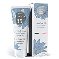 Dulàc - Arnica 35 - THE MOST CONCENTRATED - Arnica Gel Cream with a 35% concentration - 2.53 Fl.oz