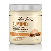 Queen Helene Professional Massage Cream, Almond, 15 Ounce [Packaging May Vary]
