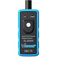 VXSCAN EL-50448 Auto Tire Pressure Monitor Relearn Reset Sensor TPMS Activation Relearn Tool OEC-T5 Reset Tool Compatible for GM Series Vehicle 2010-2018