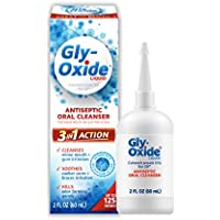 Gly-Oxide Alcohol-Free Antiseptic Mouth Sore Rinse, 2 oz