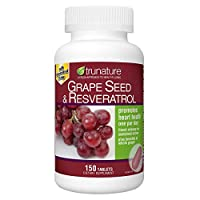 trunature? Grape Seed & Resveratrol, with Vitamin C, 150 tablets, One per day Personal Healthcare / Health Care by HealthCare