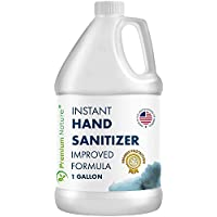 Hand Sanitize Gel - Value Size Advanced Natural Hand Sanitize Cleaner Portable Aloe Vera Moisturizer Packaging May Vary (1 Gallon)