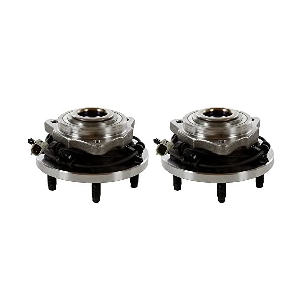 ECCPP Pair of 2 New Complete Front Wheel Hub Bearing Assembly 5 Lugs w//ABS for 2005-2009 Jeep 513234/×2