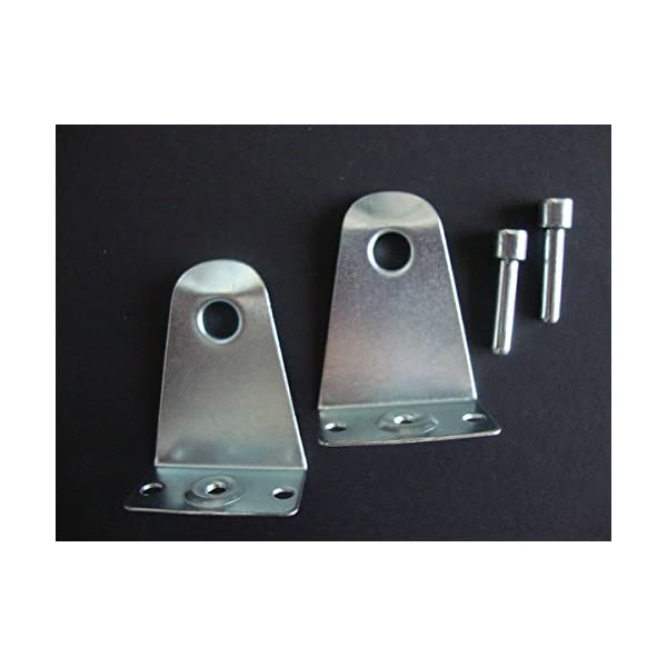"""1/"""" Metal Hold Down with integrated pin for Mini Blinds and Cellular Shades"""