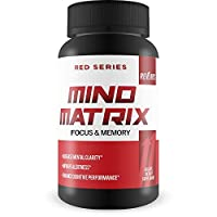 Mind Matrix Memory, Focus & Clarity Formula - Brain Booster Nootropic Supplement Scientifically Formulated for Optimal Performance with Bocopa Monnieri and DMAE - g Fuel for IQ, 60 Cap